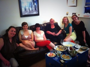 A shot from our last meeting in June - can't wait to start planning for 2013-14!